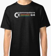 Camiseta clásica commodore 64 retro computadora