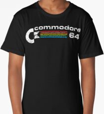 commodore 64 retro computer Long T-Shirt