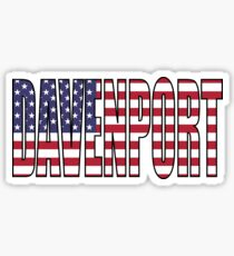 Davenport Sticker