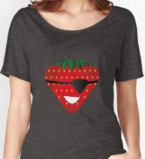 Strawberry Patch Women's Relaxed Fit T-Shirt