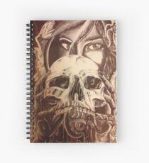 Face off by SicInk Spiral Notebook