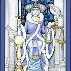 """Justice"" Tarot Card by WinonaCookie"