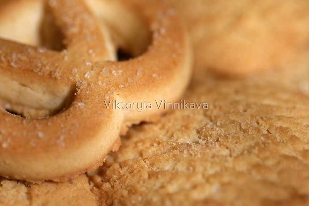 Freshly made cookies by Viktoryia Vinnikava