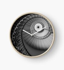 Elegant French Inspired Staircase #1 Clock