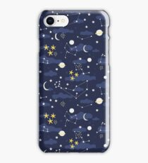 cosmos and stars iPhone Case/Skin