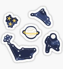cosmos and stars Sticker