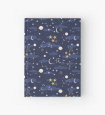 Kosmos, Mond und Sterne. Astronomie-Muster Notizbuch