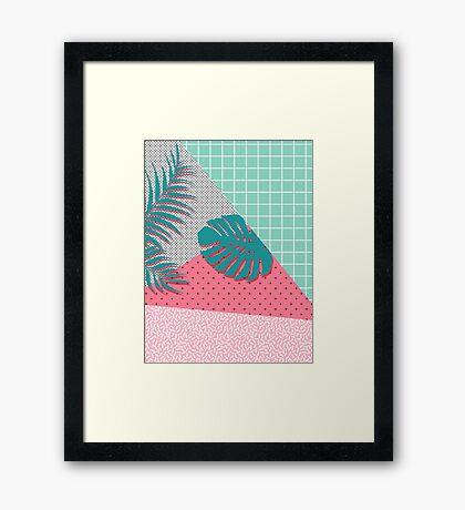 Santa Monica #redbubble #decor #buyart Framed Print