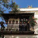 Quintessential Spain - the Flowering Balcony by Georgia Mizuleva