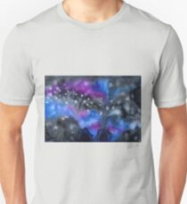 Watercolor colorful starry space galaxy background T-Shirt