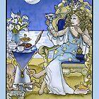 Queen of Cups, Card by WinonaCookie