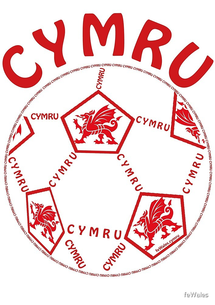 feWales Pel-droed Cymru by feWales