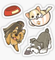 Small dogs Sticker