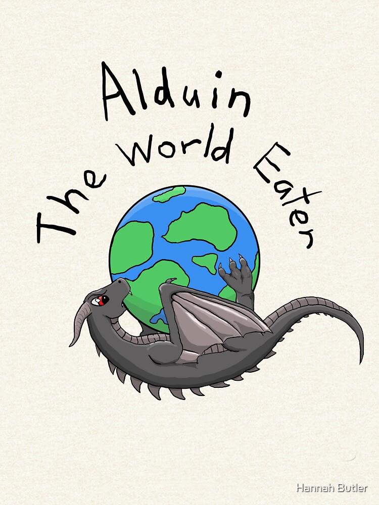 Baby Alduin by RowdayWolf