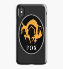 MGS - FOX Logo iPhone Case/Skin