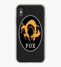 MGS - FOX Logo iPhone Case