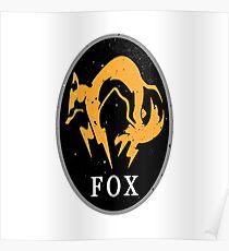 MGS - FOX Logo Poster