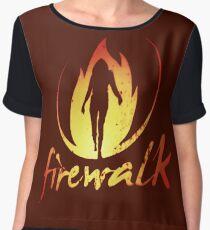 Firewalk Bandlogo - Before the Storm - Life is Strange 1.5 Women's Chiffon Top
