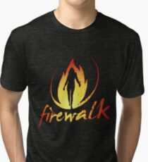 Firewalk Bandlogo - Before the Storm - Life is Strange 1.5 Tri-blend T-Shirt