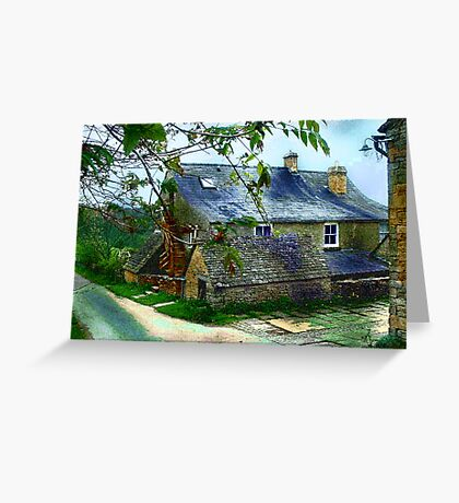 Timeless Old Structure Greeting Card