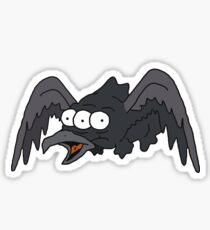 Three Eyed Raven Sticker