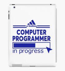 COMPUTER PROGRAMMER iPad Case/Skin