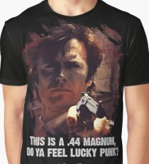 DIRTY HARRY - Do Ya Feel Lucky Punk? Graphic T-Shirt