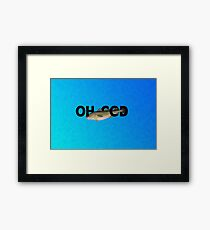Oh Cod! Framed Print
