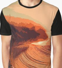 Sunset on the Ocean Graphic T-Shirt