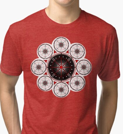 Tribal Gathering Tri-blend T-Shirt