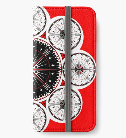 Tribal Gathering iPhone Wallet