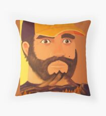 Fire Watch Throw Pillow