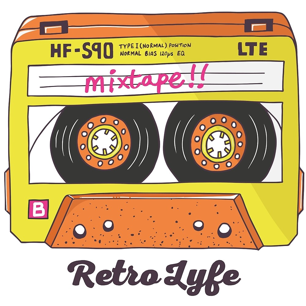 Cassette tape - retro life! by leothexplorer