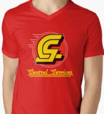 Central Services : Inspired by Brazil Men's V-Neck T-Shirt