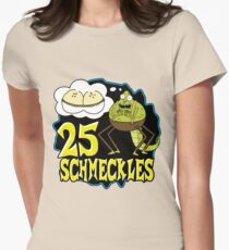 25 Schmeckles Women's Fitted T-Shirt