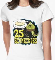 25 Schmeckles Womens Fitted T-Shirt