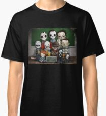 Horror Collage Funny Overlook High Classic T-Shirt
