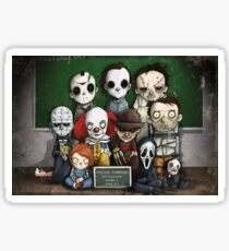 Horror Collage Funny Overlook High Sticker
