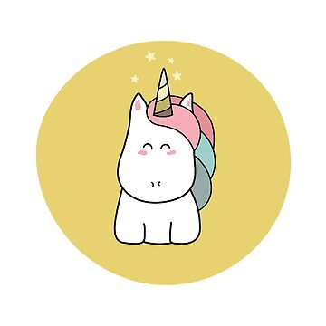 Cute Kawaii Unicorn by freeves