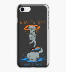 Purrtal - Chell iPhone Case/Skin