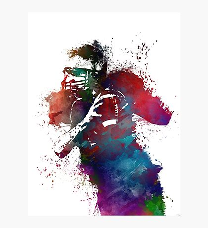 Rugby #rugby #sport Photographic Print