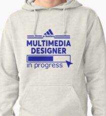 MULTIMEDIA DESIGNER Pullover Hoodie