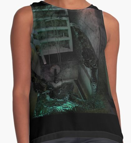 Creature in the dark Contrast Tank
