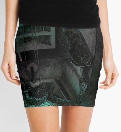 Creature in the dark Mini Skirt