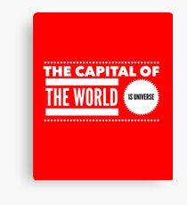 World capital Canvas Print