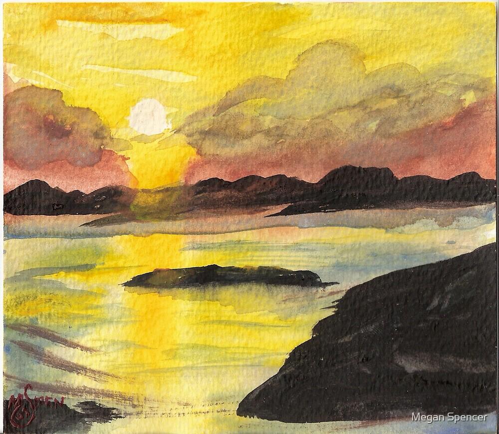 Sunset by Megan Spencer