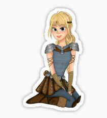 Astrid Race to the Edge Sticker