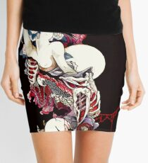 Sometimes Your Insides Become Your Outsides Mini Skirt