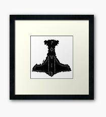 Power- Mjolnir illustration Framed Print