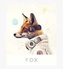 Star Team - Fox Photographic Print